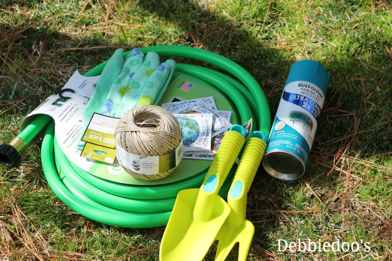 How To Make Your Own Garden Hose Wreath Debbiedoos