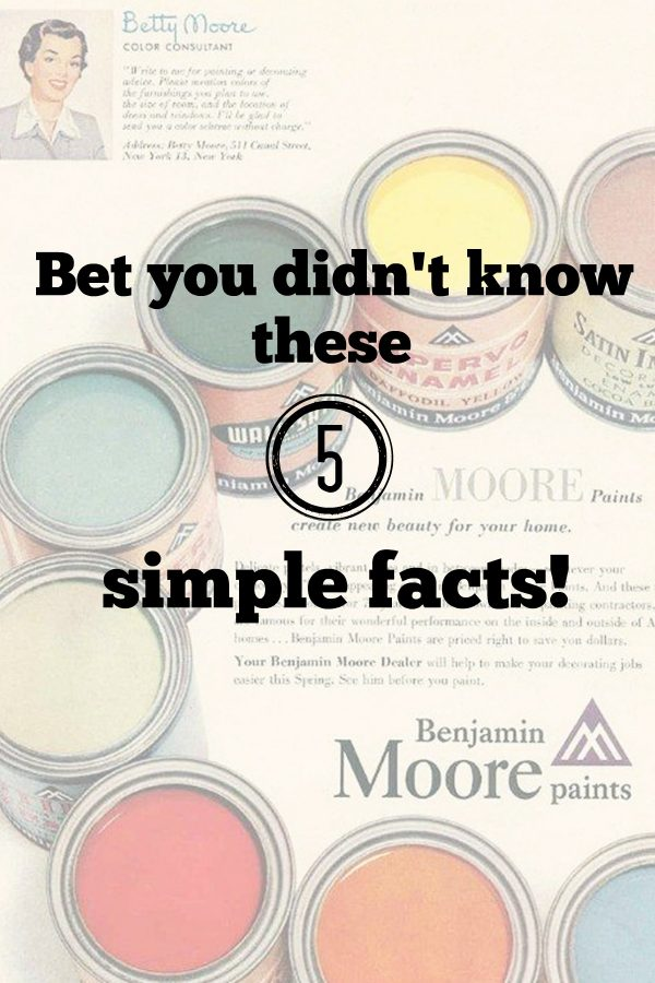 5 Facts on Benjamin Moore paint
