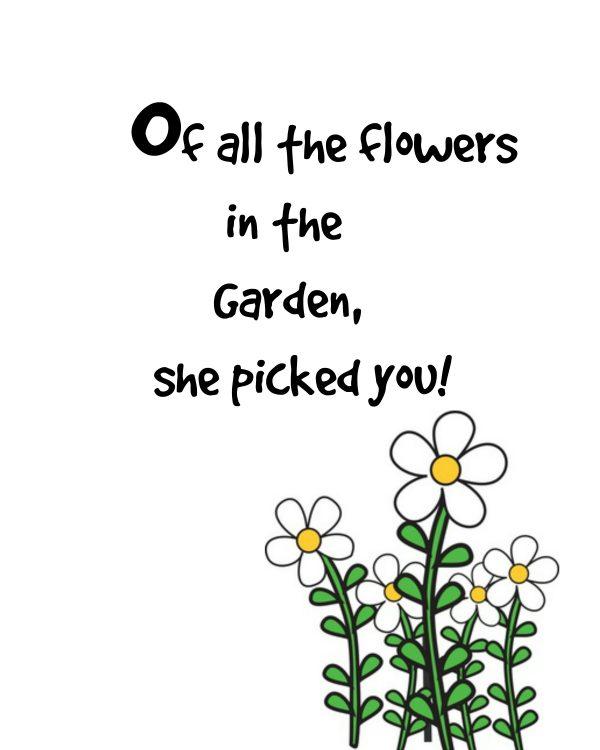 Garden flowers of mother
