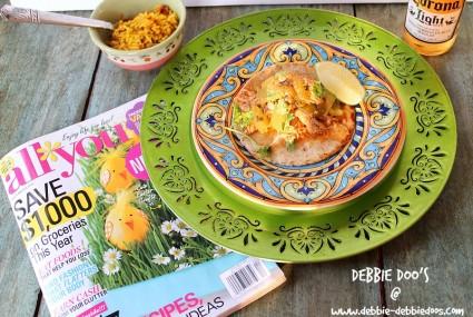 Green chicken chile taco recipe 018