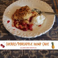 How to make a cherry pineapple dump cake