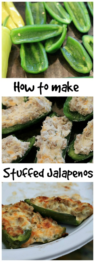 How to make stuffed Jalapenos