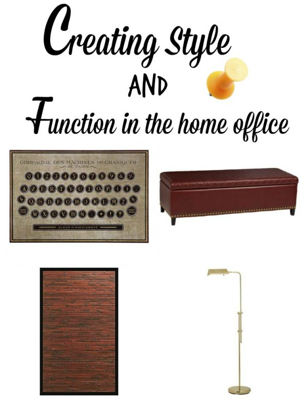 creating style and function in the home office