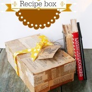 How to make a recipe box