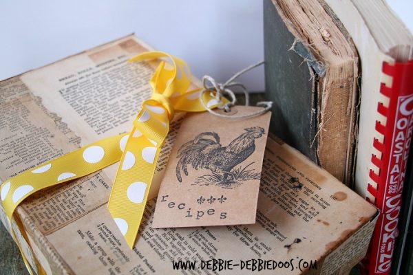 How to make a recipe box #modpodge