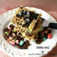 rice-krispie-treats-topped-with-oreos-190x190 How to make Rice Krispie Treats with a twist