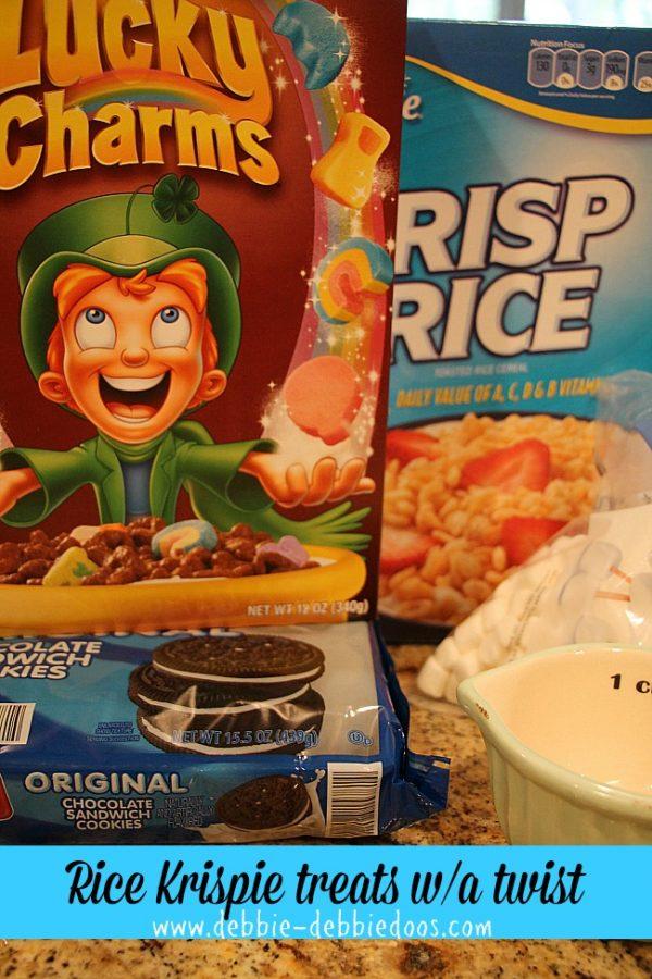 rice krispie treats with a twist