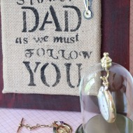 Diy Father's day gift idea with Rit dye