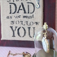 Fathers day placque