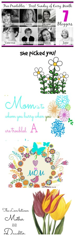Free Printables for May