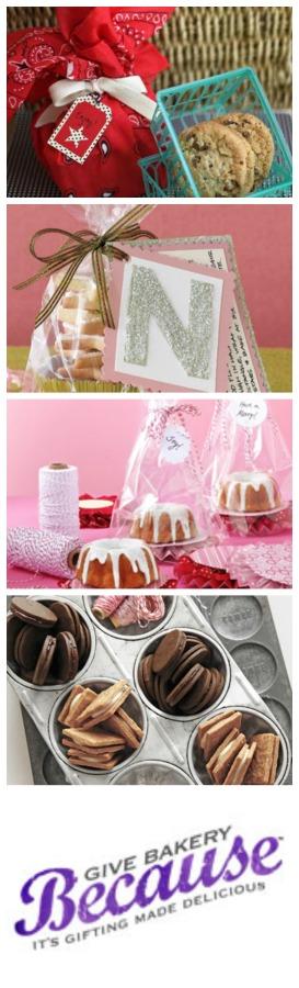 Creative ways to give bake good ideas #bakerybecause