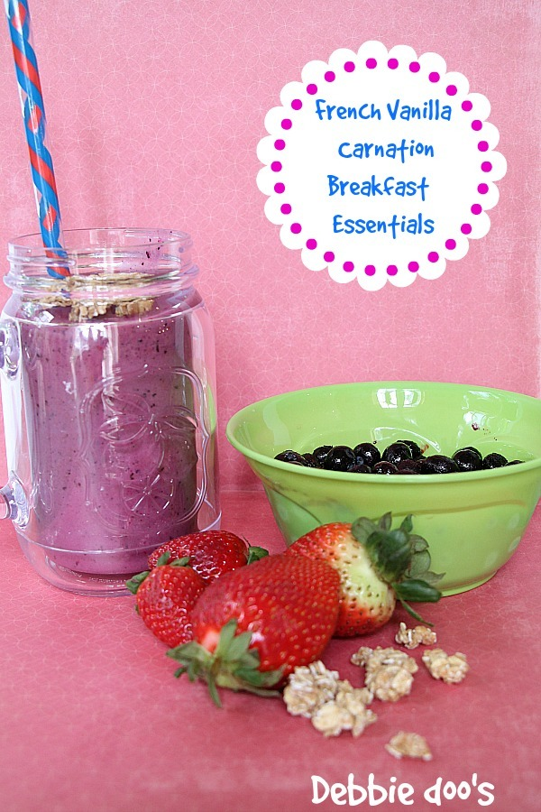 How to make a smoothie with Carnation Breakfast essentials 007