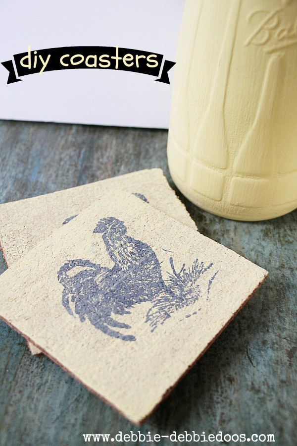 how to make your own cork coasters debbiedoos