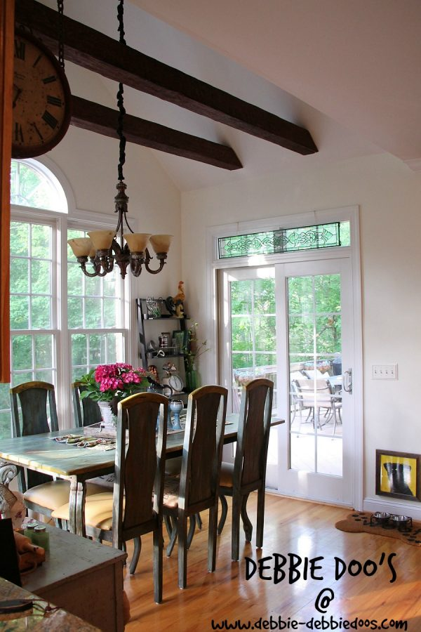 Kitchen makeover with Bavarian cream color