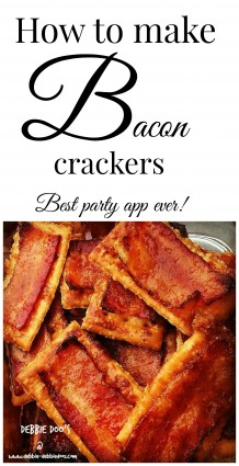 Toll house bacon crackers