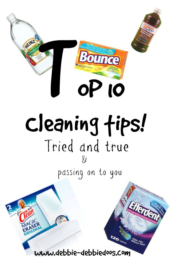 Top 10 cleaning tips