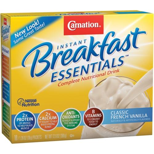 french vanilla breakfast essentials