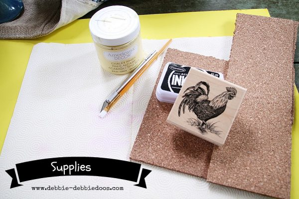 how to make your own #cork #coasters