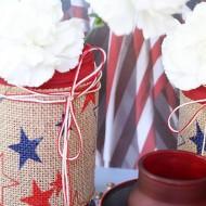 Patriotic table top ideas