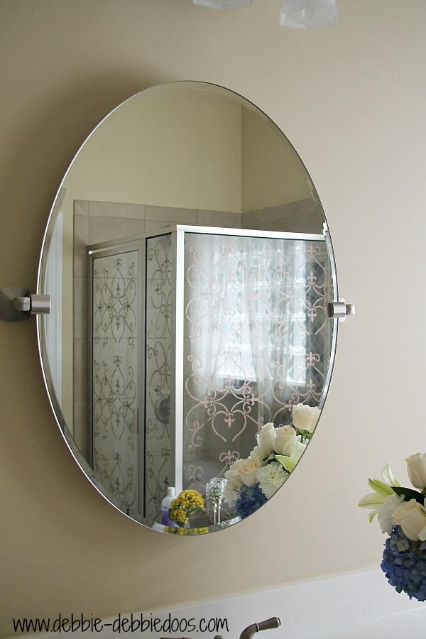 removing builder grade bathroom mirrors debbiedoos. Black Bedroom Furniture Sets. Home Design Ideas