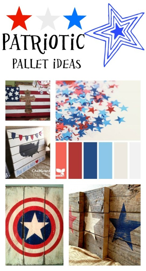 Patriotic pallet ideas