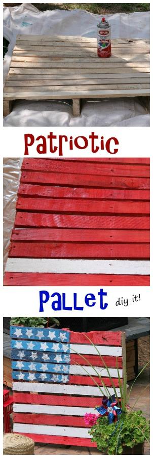 Patriotic pallet idea
