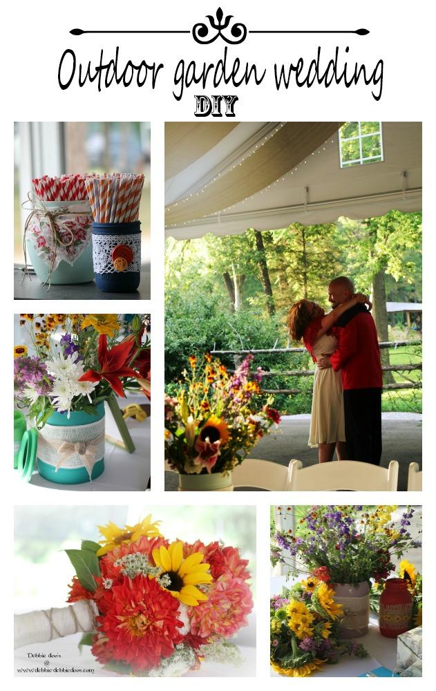 outdoor garden wedding theme