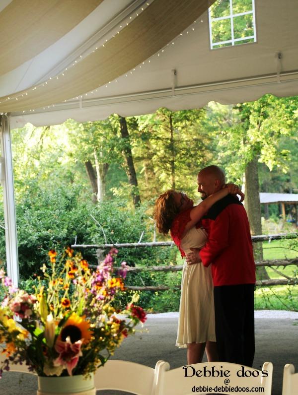 romantic wedding picture