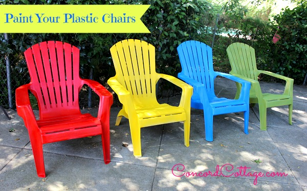 Paint-Plastic-Chairs