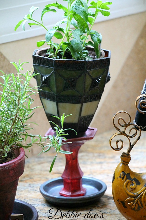 light sconce herb pot 019