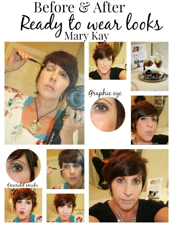 Before and after Ready to wear looks by Mary Kay