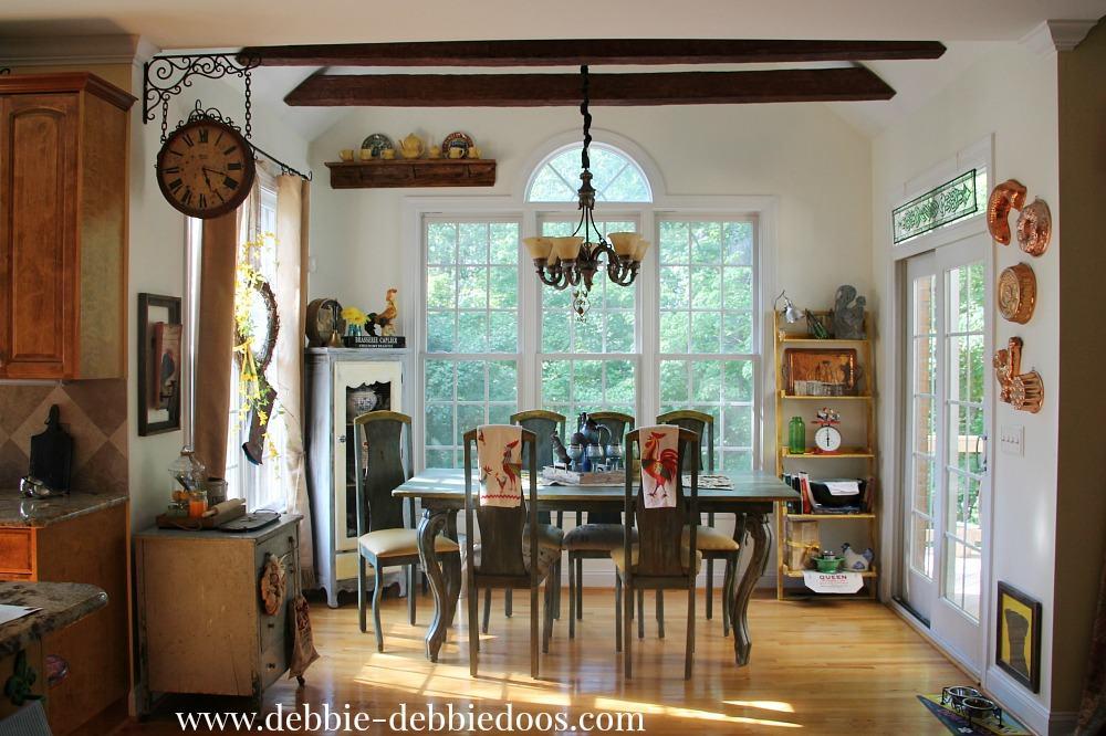 Summer kitchen decor - Debbiedoos