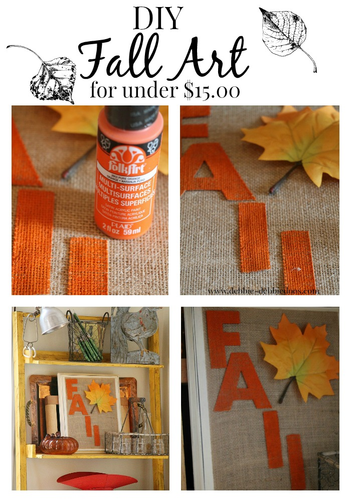 Diy Fall art