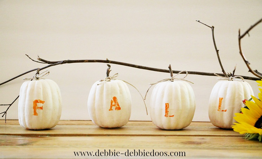 Dollar tree mini pumpkin makeover