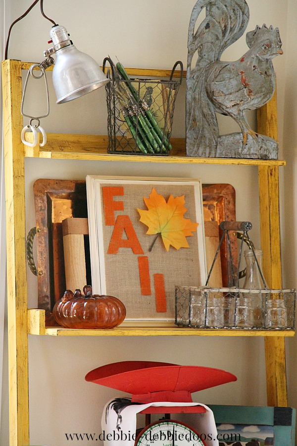 Fall burlap craft