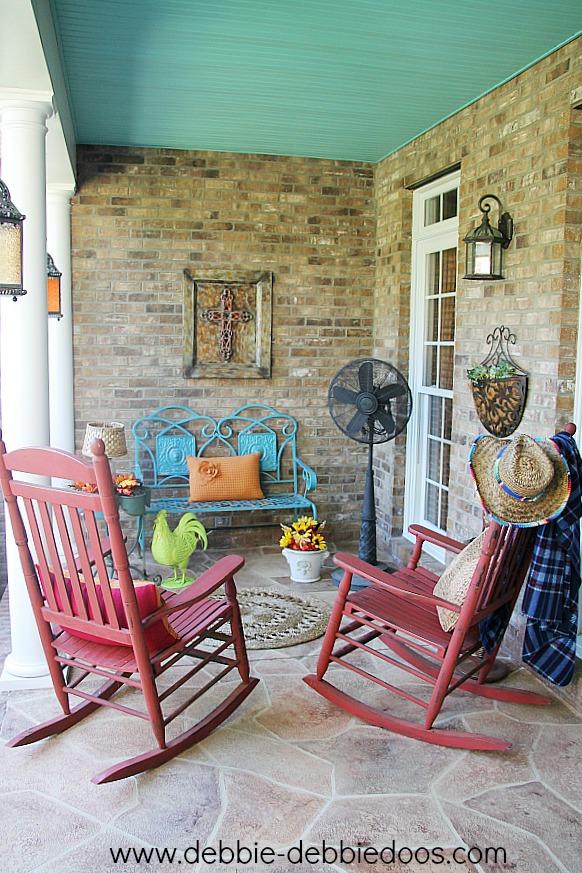 Happy Fall porch