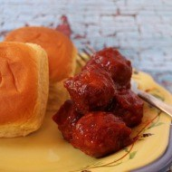 How to make BBQ meatballs in the crockpot