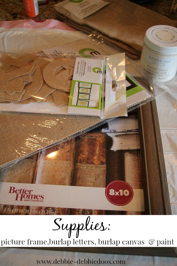 Supplies needed for Fall craft