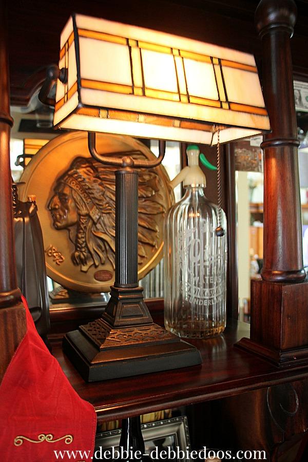 The pub and decor