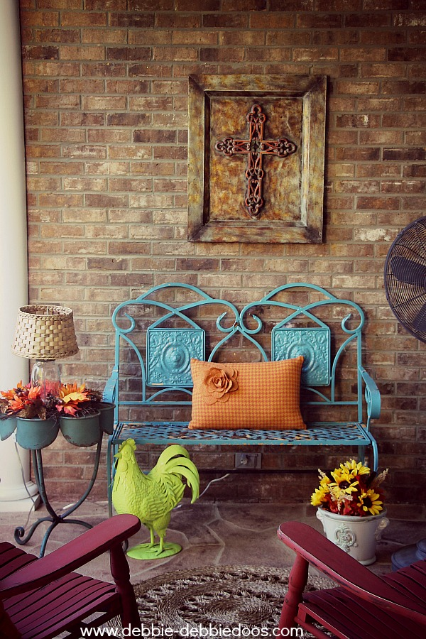 Decorating A Patio patio and porch decorating and diy ideas! - debbiedoos