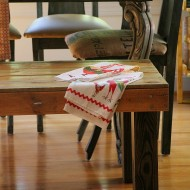 diy rustic farmhouse bench