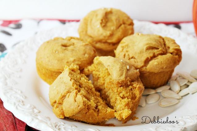 pumpkin weight watchers muffins 026