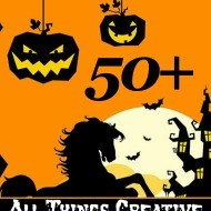 All things Halloween Crafts recipes and more!