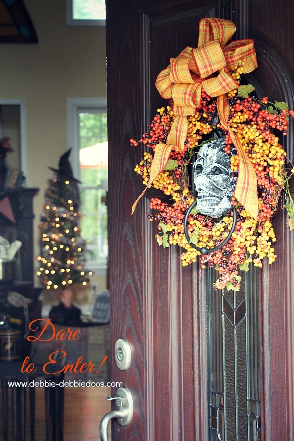 Enter if you dare Halloween decorated home