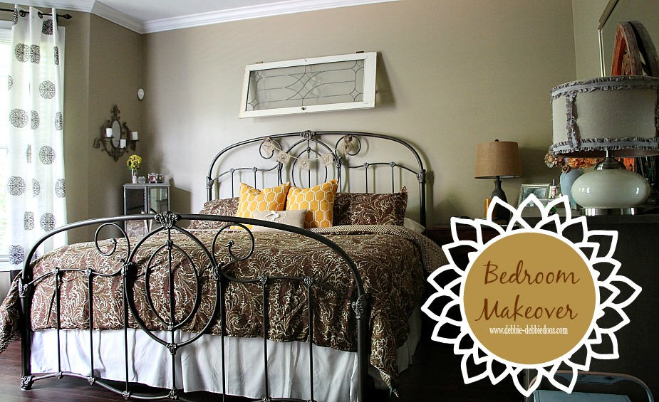 Bedroom makeover with Home goods