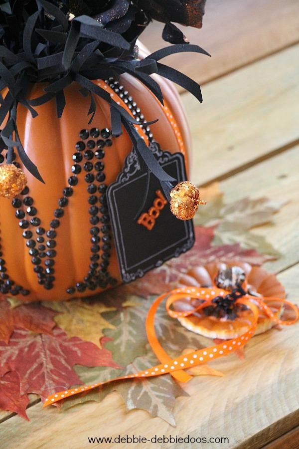 Boo tag for pumpkin