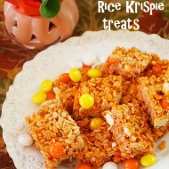 How to make pumpkin spice rice krispie treats