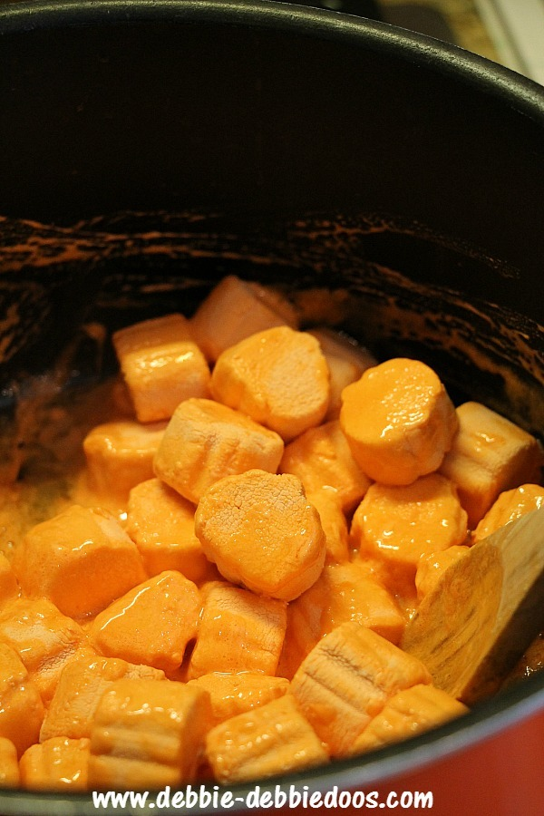 Pumpkin marshmellows