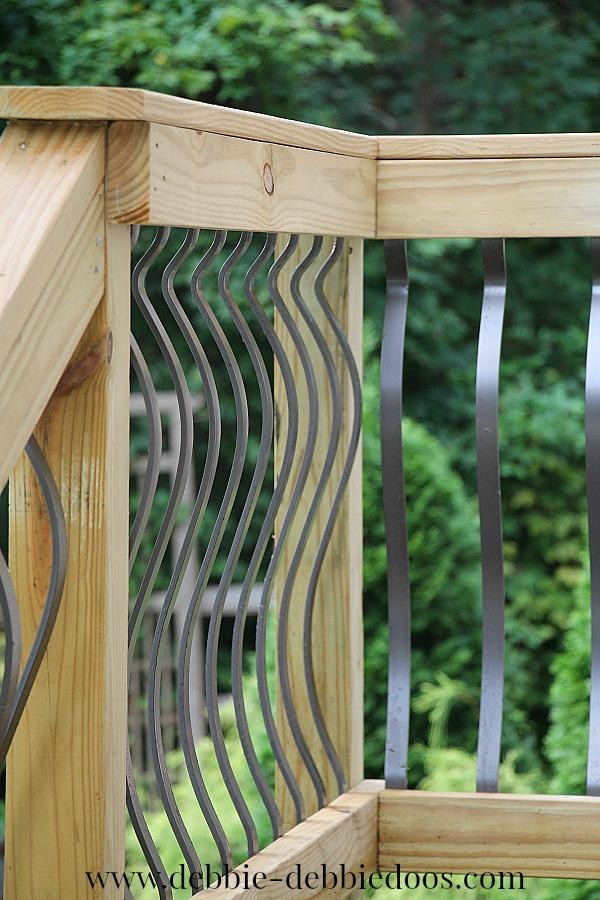 new deck rails