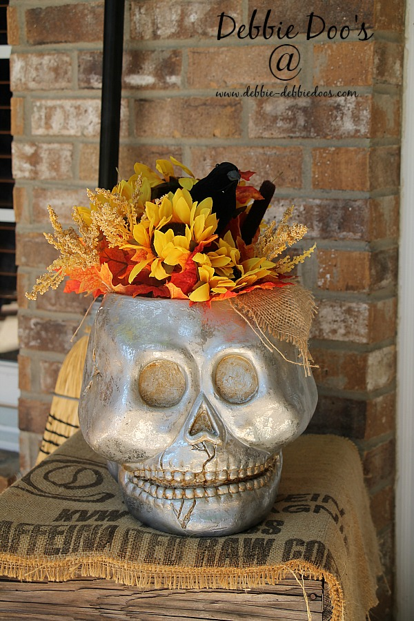 porch for Halloween decor